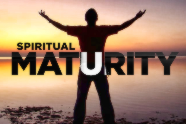 Bible Study 12/5: What is spiritual maturity? How can I